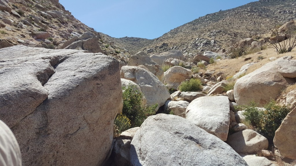Boulders around Mile 73