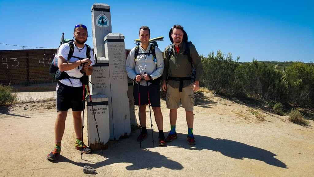The Three Amigos at the Wall