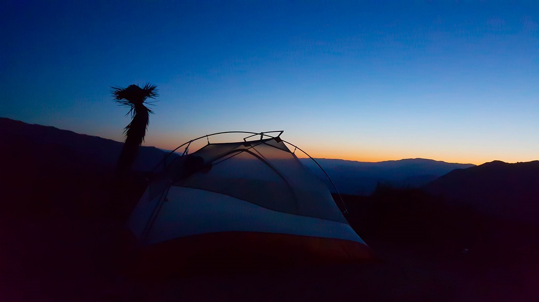 20150529_050210_Silhoutted tent sunrise mile 616