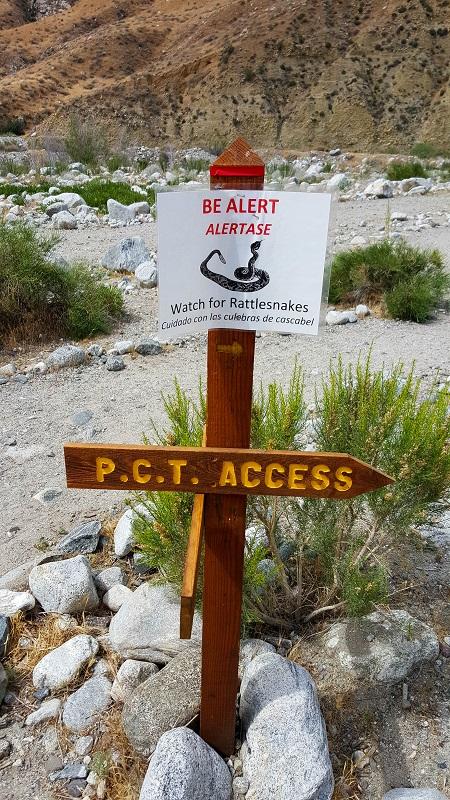 May 4 - rattlesnake warning