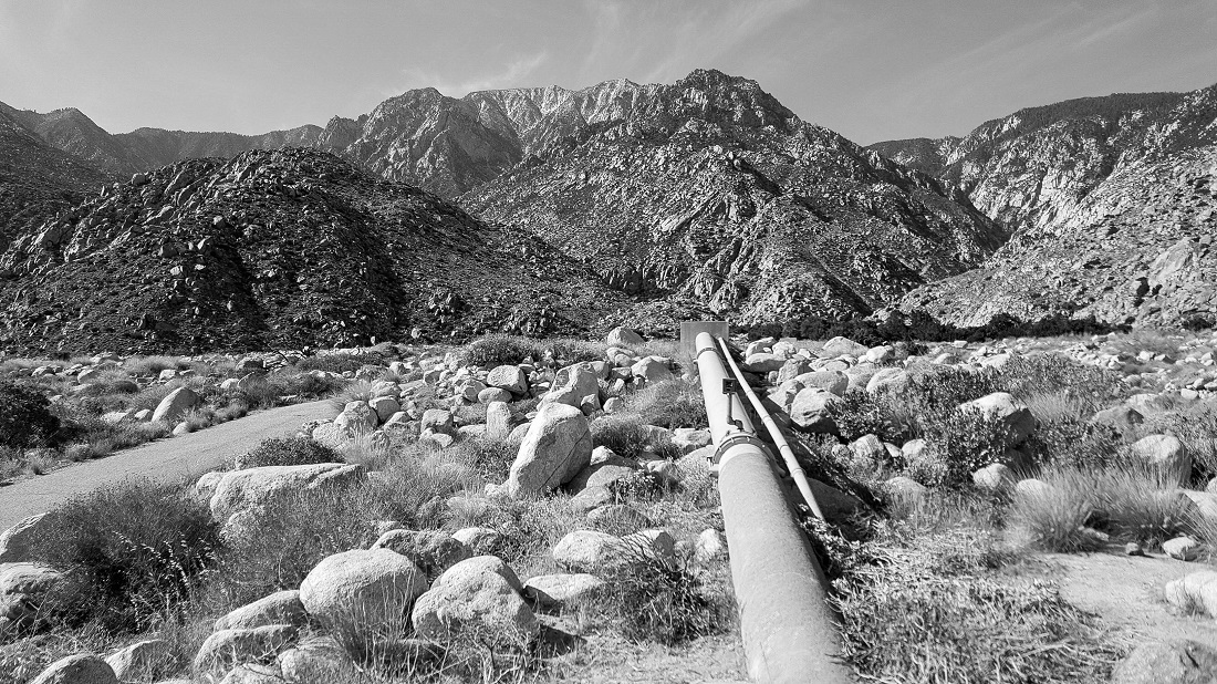 San Jacinto with pipeline