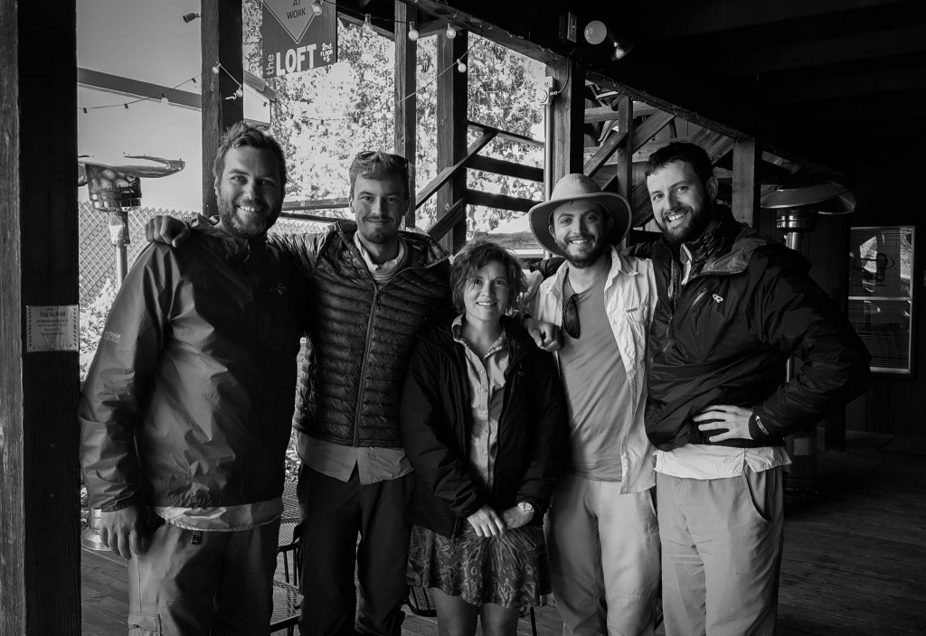 The Wrightwood 5 at Coffee B&W