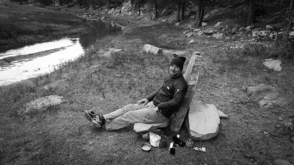 Swiss King - Kern River - B&W